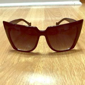 c6725f41ea sunglass spot · Retro cat Eye black sunglasses
